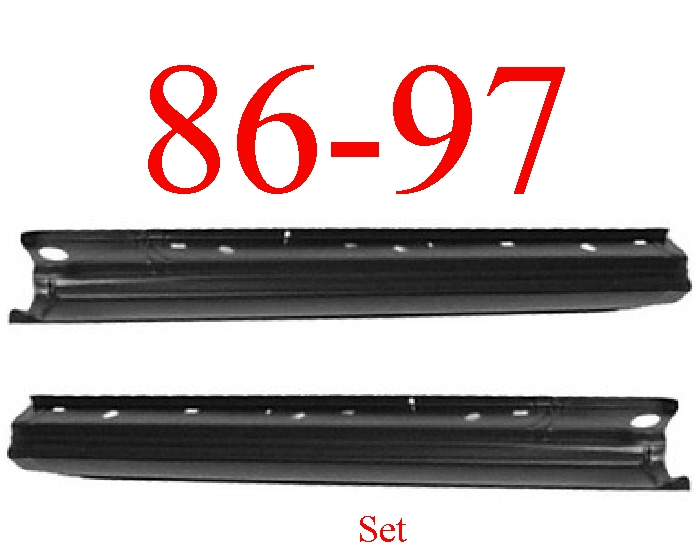 86-97 Nissan Pickup Extended Rocker Panel Set